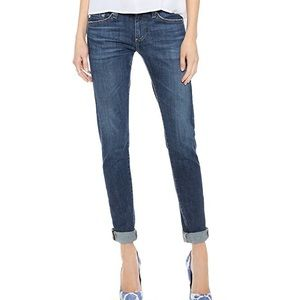 Ag the Nikki relaxed skinny medium wash jeans 27